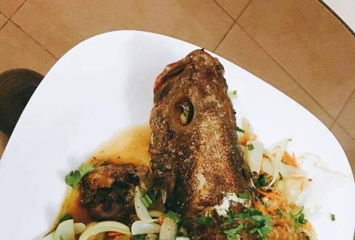 Cách làm cá mú hấp xì dầu