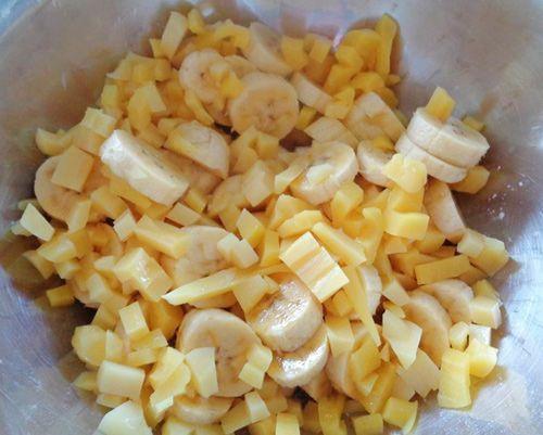 Hướng dẫn cách làm bánh chuối mít đơn giản