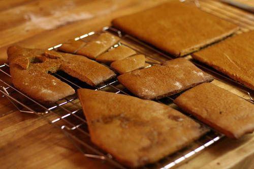 Các miếng bánh khi đã nướng xong