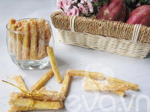Cách làm mứt khoai lang ngọt ngon đón Tết