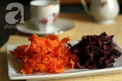 Cách làm mứt cà rốt kiểu sợi cực ngon đón năm mới về