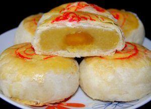 Món chay: Bánh bía chay say đắm lòng người