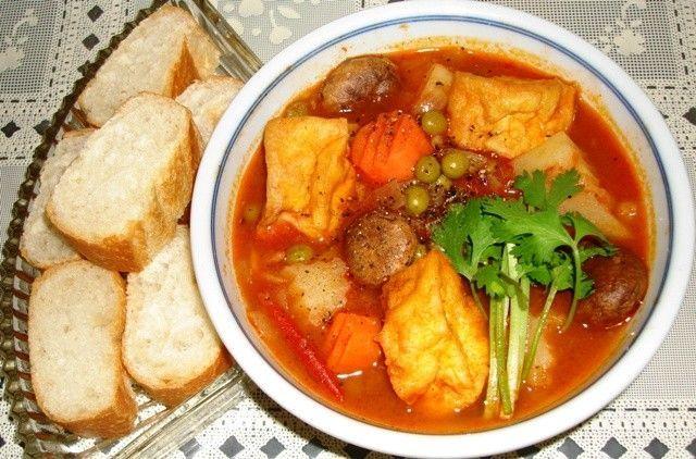Bò kho chay món chay ngon của miền Nam