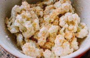 Món chay: Bông cải chiên giòn kèm sốt cay lạ miệng