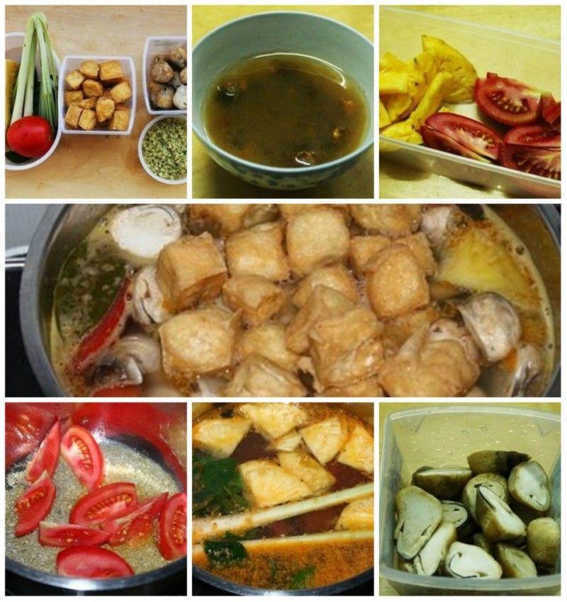 Bún Thái món chay chua cay hấp dẫn