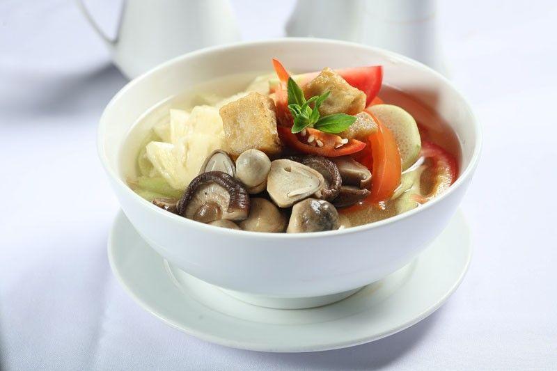 Canh chua thơm(món chay)