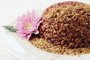 Đồ thực dưỡng: Cơm gạo lức muối mè