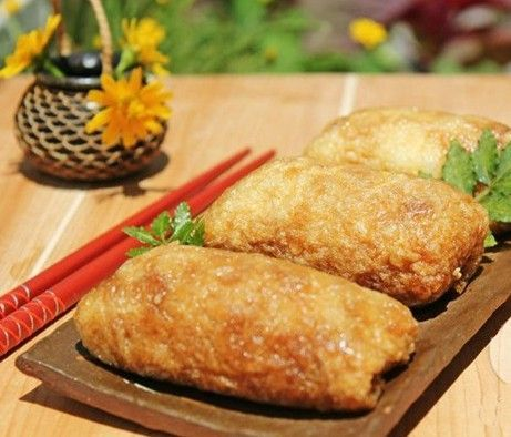 Đậu phụ nhồi cơm – món chay ngon dễ làm cho bữa trưa công sở