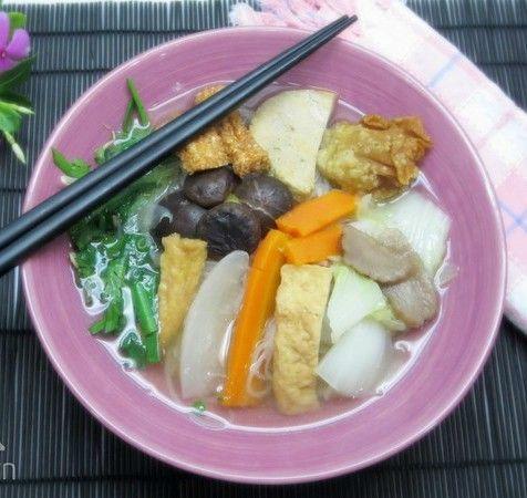 Món chay ngon hủ tiếu chay cho Tết Đoan Ngọ