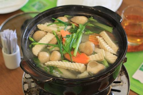 Lẩu ăn chay vừa ngon vừa tốt cho sức khỏe