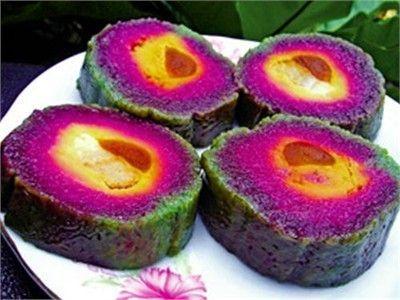 Món chay:Bánh tét Thái nhân mít dừa non (ngọt)