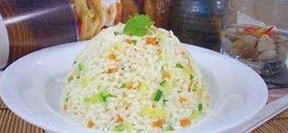 Món chay : Cơm Chiên Mướp tây Cà-rốt