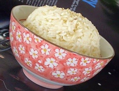 Món chay : Cơm sữa đậu nành .