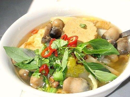Món chay:Hủ tíu Nam Vang