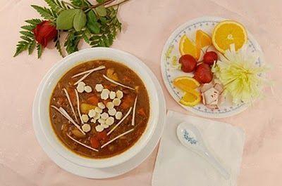 Ăn ngon với món chay : Soup Chi-Li .