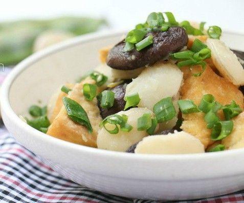 Ngày Rằm ăn ngon với món chay nấm xào hấp dẫn