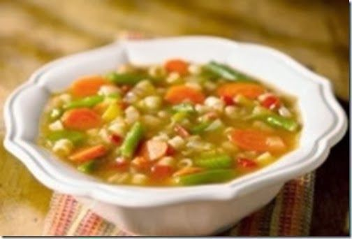 Soup Ý Chay (Vegetarian Minestrone Soup) .