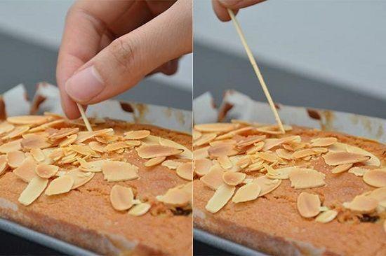 Cách làm bánh bông lan bơ nho( Raisin butter cake)
