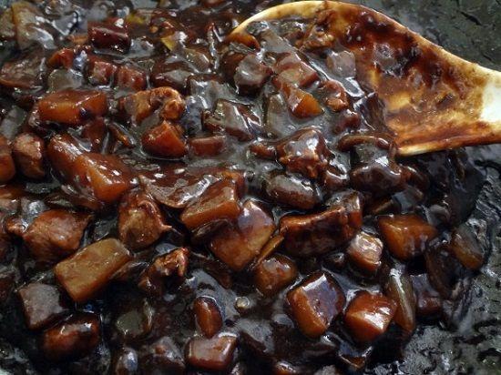 Cách làm mỳ tương đen