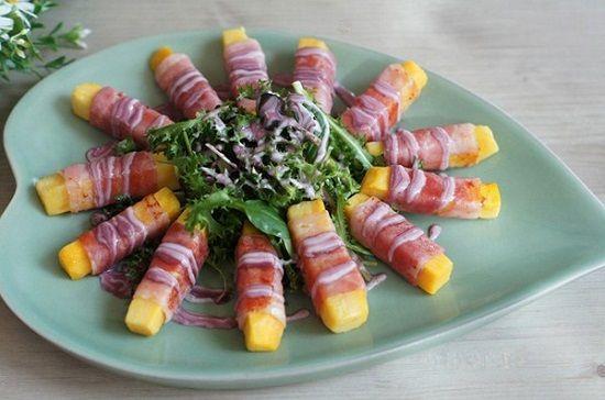 Cách làm món salad khoai lang cho bữa ăn thêm màu sắc