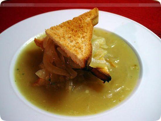 Công thức cho món soup hành kiểu Pháp