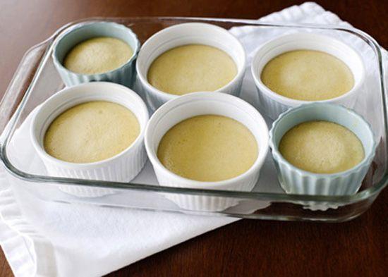Cách làm bánh flan phô mai gừng