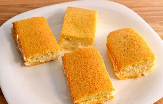 Cách làm bánh bông lan kẹp kem béo ngậy