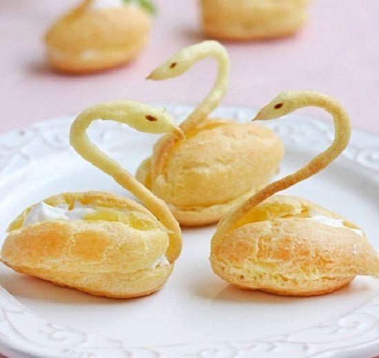 Hướng dẫn cách làm bánh su kem thiên nga cực dễ