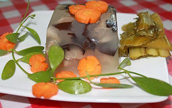 Công thức nấu món thịt đông hấp dẫn