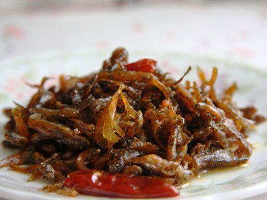 Cách nấu những món ăn ngon hàng ngày: Cá bống khô xào cay