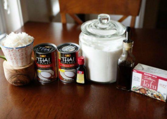 Cách làm kem dừa đậu hũ lạ mà ngon