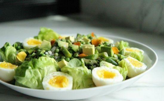 Công thức hướng dẫn làm món salad xà lách sốt đậu