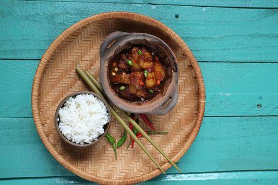 Cách làm món thịt chưng mắm tép đơn giản
