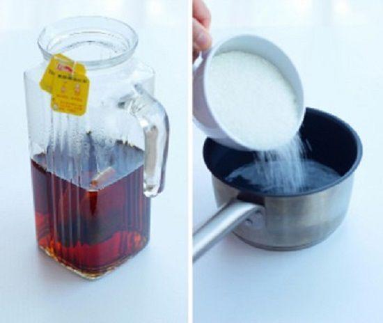 Cách làm trà vải bạc hà mát lạnh xua tan nóng bức
