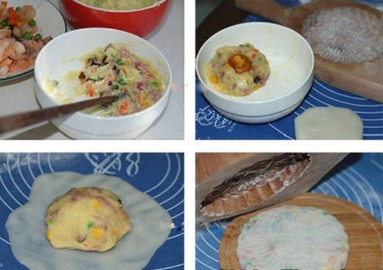 Cách làm bánh dẻo mặn đậm đà Tết Trung thu