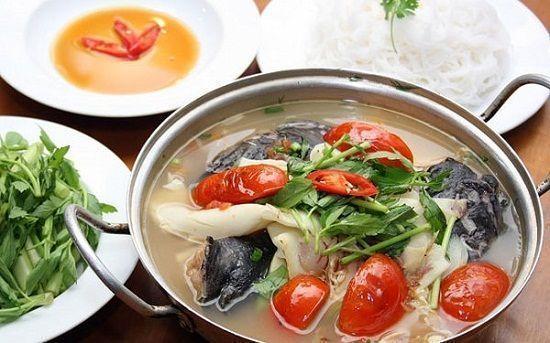 Cách nấu lẩu cá lăng hấp dẫn cuối tuần