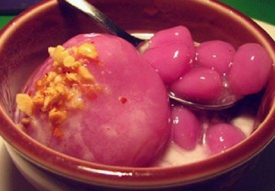 Cách làm món chè trôi nước củ dền cho ngày tết Hàn thực