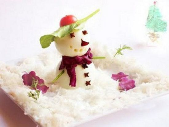 Ý tưởng trang trí món ăn chủ đề giáng sinh dễ làm