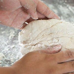 Bánh bao khoai lang tím