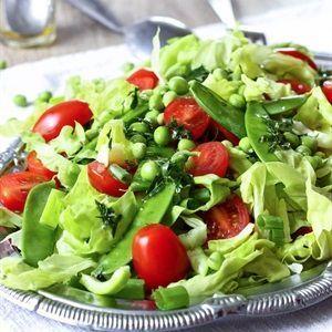 Salad rau canh cà chua