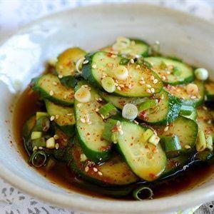 Salad dưa leo Hàn Quốc
