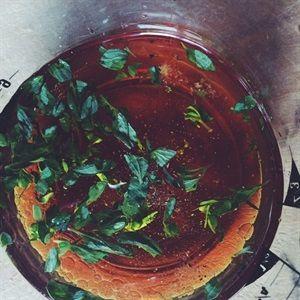 Cà tím nướng sốt dầu giấm