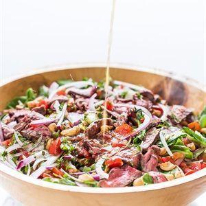 Salad bò rau củ