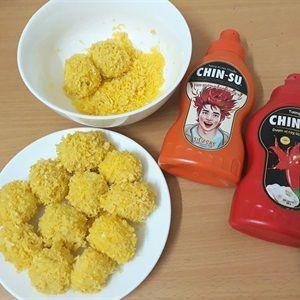 Trứng cút chiên xù tương ớt siêu cay CHIN-SU
