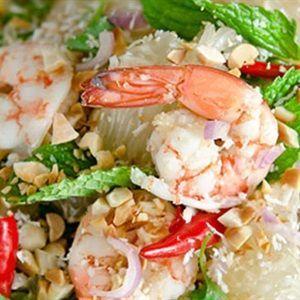 Salad bưởi tôm