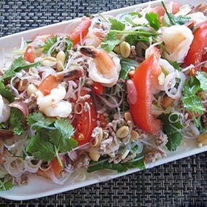 Miến trộn kiểu salad Thái