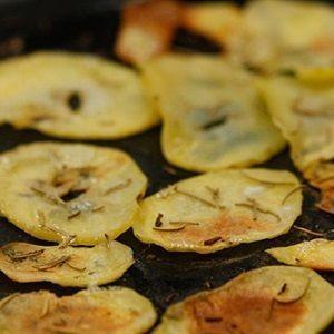 Snack khoai tây nướng