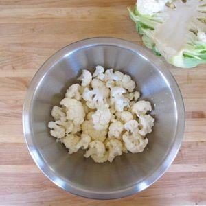 Bông cải ngâm cà ri