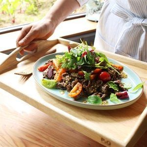 Salad thịt bò cà chua