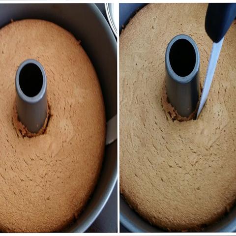 Bánh chiffom trà xanh thơm ngon